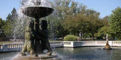 Rackham Fountain Detroit Zoo